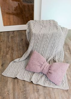 Lana Grossa DECKE IM ZOPF-LOCHMUSTER Alta Moda Cashmere 16 - FILATI Handstrick No. 62 (Home)  - Modell 4 | FILATI.cc WebShop