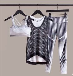 Fitness Outfits, Sporty Outfits, Athletic Outfits, Fitness Fashion, Cool Outfits, Workout Attire, Workout Outfits, Fit Bodies, Moda Fitness