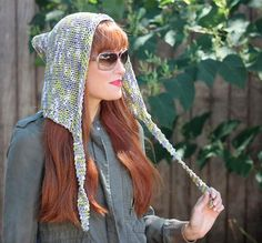 Woodland Hood | The perfect beginner knitting pattern for fall.
