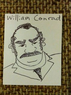 William Conrad  #1000blankwhitecards #1000bwc  #cardgames