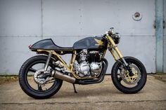 Ivan De Bie's GORGEOUS Honda CB350 Four