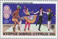 Stamp: 1st Commonwealth Film and Television Festival (Cyprus) (Commonwealth…