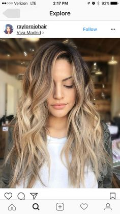 This almost makes me want to try blonde... almost.