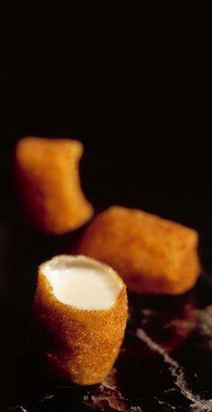 474, El Bulli, 1998, snacks, croquetas líquidas de pollo (chicken liquid croquettes)