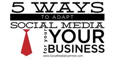 Are you struggling to make social media work for you? Do you have the right social media strategy for your business? The challenge of social media is that it's constantly changing. In this article I'll share five ways to adapt social media for your business. #1: Do a Social Media Audit To determine what is…