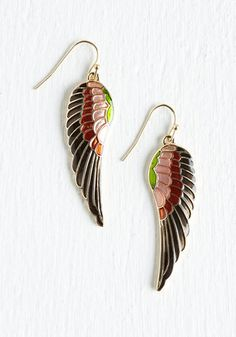 Best Swarovski Feather Earrings Right Now Curated Cool
