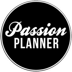 Passion Planners rock!