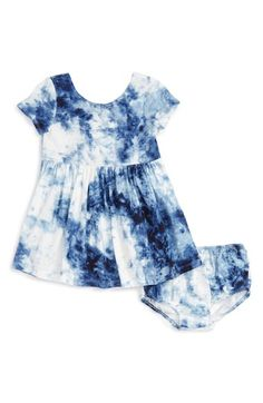 Ralph Lauren Tie Dye Dress (Baby Girls) available at #Nordstrom
