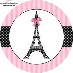 New cupcakes baby shower theme candy bars 60 ideas Paris Cupcakes, Paris Party Decorations, Paris Sweet 16, Barbie Em Paris, Paris Birthday Parties, Spa Birthday, Candy Bar Labels, Daddy Daughter Dance, Pink Paris