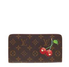 4801e136e53e Louis Vuitton Zippy Wallet Limited Edition Monogram Canvas with Takashi  Murakami cherry print. Takashi Murakami