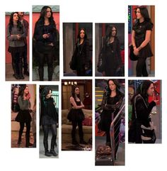 Jade West Victorious, Victorious Cast, Bad Girl Outfits, Cute Outfits, Jade West Style, Jade And Beck, Liz Gilles, Grunge Outfits, Fashion Outfits