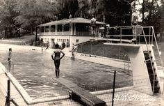 Gainesville's Glen Springs Pool Gainesville Florida, Old Florida, Florida Pictures, University Of Florida, Tom Petty, Local History, Vintage Pictures, World, Pool Spa