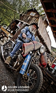 jlgraphicdesign:    Don, owner of Gold King Mine.  Jerome, Arizona