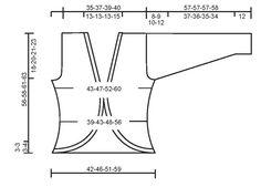 """DROPS 95-33 - DROPS Jacke mit Kreis-Effekt in """"Alpaca"""" und """"Safran"""" - Free pattern by DROPS Design"""
