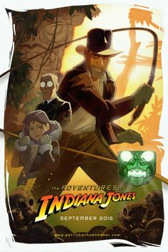 The Adventures of Indiana Jones | fan film by Patrick Schoenmaker