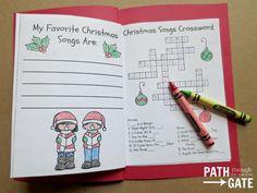 Christmas Notebook - Path Through the Narrow Gate