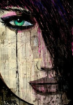 """chapter"" by Loui Jover; Pen and Ink, Drawing"