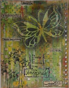 Journal pages and other projects from Stempel Yvon.  I like her blog.