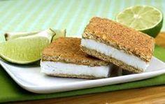 Too-Cool Key Lime Pie Sandwiches (PointsPlus = 3)