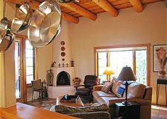 Book for five nights, get two more free! Luxurious East Side accommodations; furnished and decorated in the Santa Fe fashion.2BR, 2Bath, Comfortably sleeps 6 with one King Bed bedroom with bathroom, ...