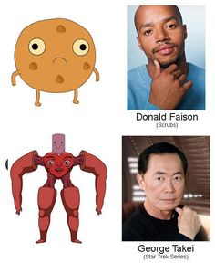 """25 Actors You Might Not Have Known Did Voices On """"Adventure Time"""""""