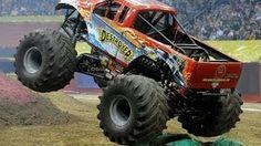 real monster trucks - YouTube