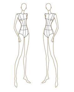 65 exemplos de croquis e Ilustrações de Moda | Criatives | Blog Design, Inspirações, Tutoriais, Web Design
