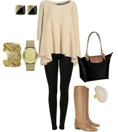 Leggings outfit cant wait for fall!!