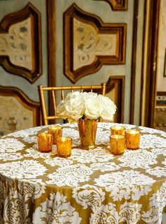 Gold and Cream Wedding