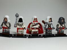 I love it! LEGO Assassins Creed. I'd play the shit outta that game!