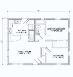 Small Cube House Plans Awesome Open Floor Plan 24 X 42 View Floor Plan 768 Sq 24 X 32 – modern courtyard house plans Garage Apartment Floor Plans, 2 Bedroom House Plans, Cabin House Plans, Pole Barn House Plans, Cabin Floor Plans, Garage Apartments, Open Floor Plans, The Plan, How To Plan