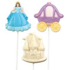 "Castle 3/"" Chocolate Lollipop Candy Mold Princess Medieval"