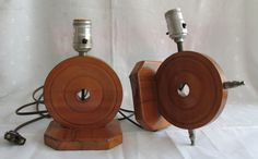 Mid Century Home Decor  https://www.etsy.com/listing/237525008/lamps-nautical-pair-handcrafted-wood-mid