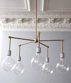 10 awesome DIY brass Light fixtures!