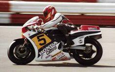 Silverstone ... 1984 Takazumi Katayama.