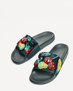 MULTIFRUIT SLIDES-View all-SHOES-WOMAN | ZARA United States