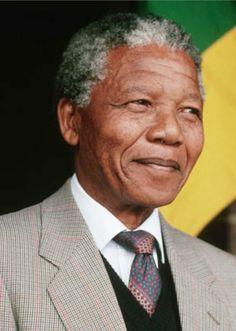Nelson Mandala - President of South Africa