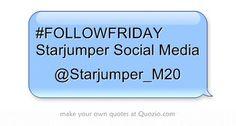 #FOLLOWFRIDAY Starjumper Social Media