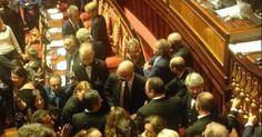 """il popolo del blog,: Senato, parlamentari M5S denunciati per """"attentato..."""