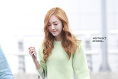 SNSD Jessica airport fashion - May 12