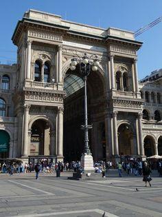 Milan: The Galleria VittorioEmanuele