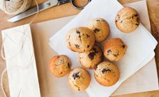 High Fibre Mini Choc Chip Muffins Recipe - Snacks