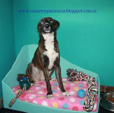 Ante Todo Con Arte y Paciencia: Un chaise longue para nuestra mascota