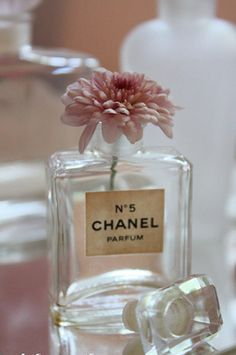 One of Melanie's collectibles.. old perfume bottle. Chanel  @Sarah D. Towne www.sarahdtowne.com