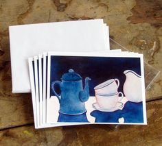 Coffee and Cream by VioletDaukArtist on Etsy