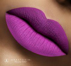 Liquid Lipstick Unicorn on the lips. #AnastasiaBeverlyHills