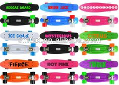 CE Penny Board,Penny Skateboard(Original Design)  22 inch Penny Deck  3.125 inch Penny truck  ABEC-7 Bearing  OEM color Wheels