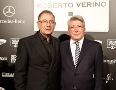 Roberto Verino y Enrique Cerezo