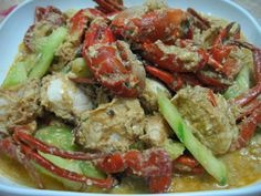Sumptuous Flavours: Sweet & Sour Stir-fried Crab 酸甜炒螃蟹
