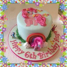 My+Little+Pony+-+Cake+by+Dinkyscakes